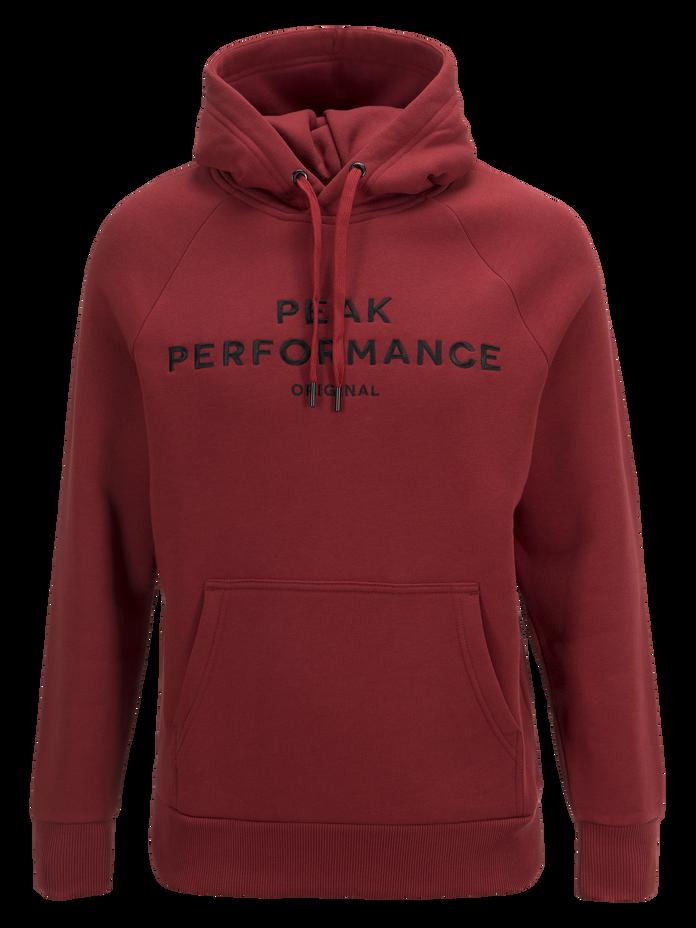 Men's Logo Hood Dusty Wine | Peak Performance