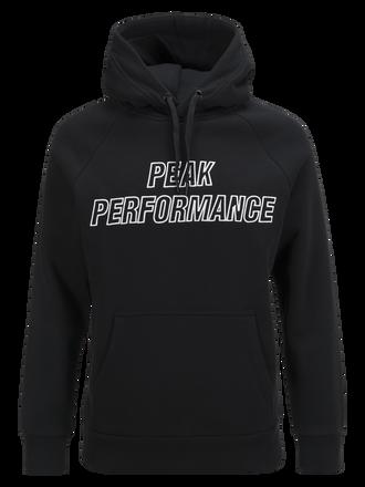 Men's Hooded Sweater Black | Peak Performance