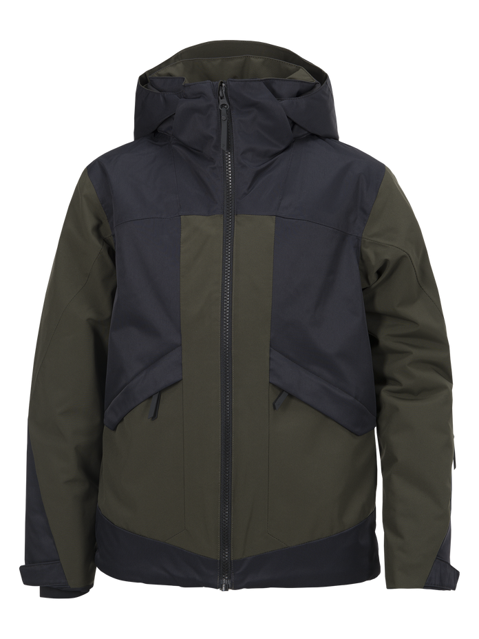 Kids Fernie Ski Jacket Forest Night | Peak Performance