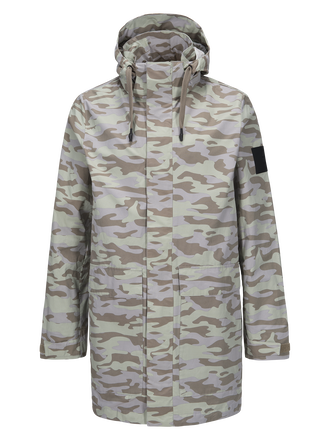 Herren Zak Camo Parka PATTERN | Peak Performance