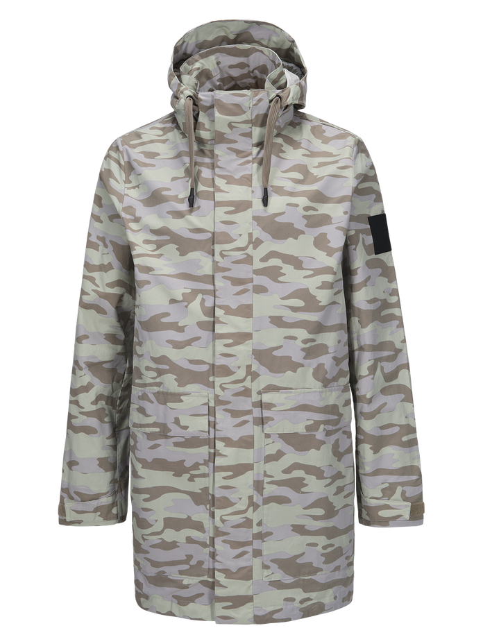Men's Zak Camo Parka PATTERN | Peak Performance