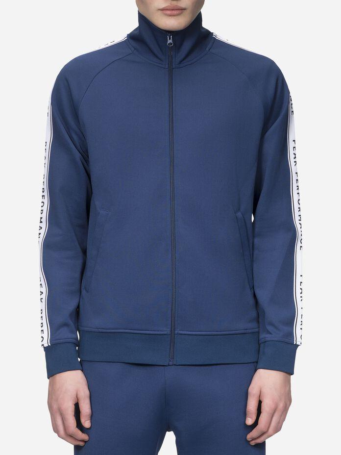 Men's Tech Club Zipped Sweater Thermal Blue | Peak Performance