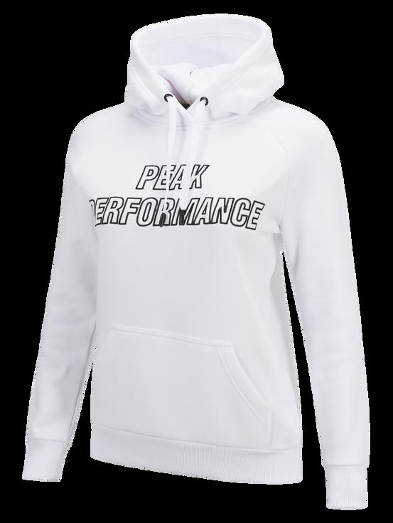 Damtröja med huva White | Peak Performance