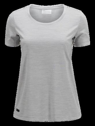 Civil Merino t-shirt för damer Med Grey Mel | Peak Performance