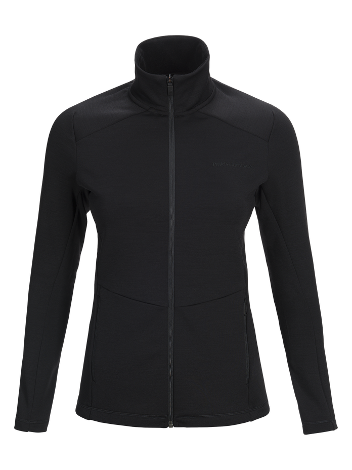 Women's Helo Mid-Layer Black | Peak Performance