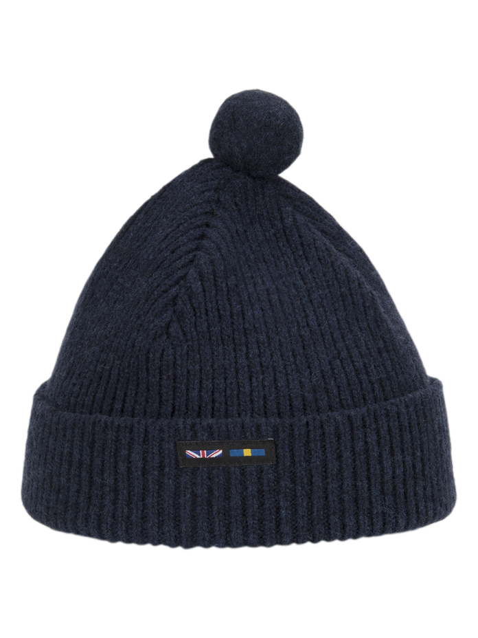 Pom Pom Beanie RAF Navy | Peak Performance