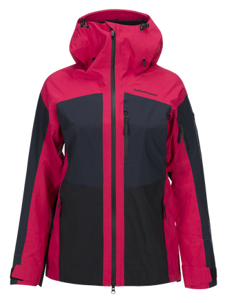 Damen Gravity Skijacke Pink Planet | Peak Performance