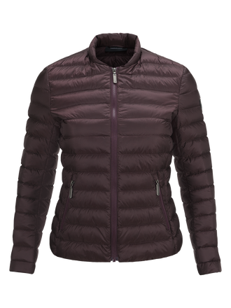 Damen Bonnie Linerjacke Mahogany | Peak Performance