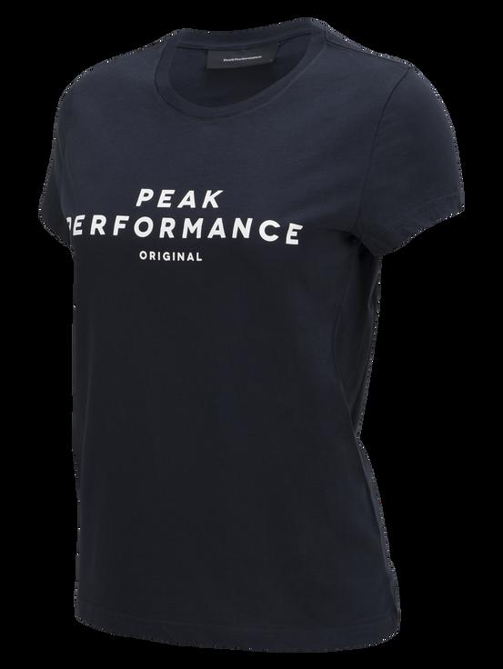 Logo t-shirt för damer Salute Blue | Peak Performance