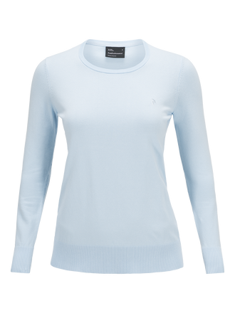Damen Golf Rundhalsausschnitt Bluebell | Peak Performance