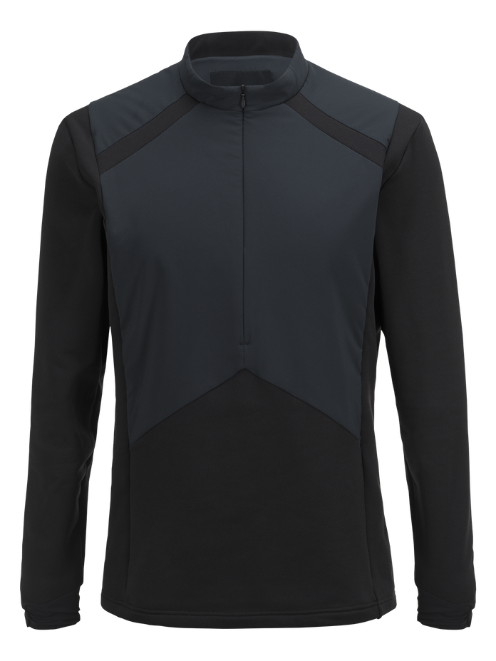 Men's Hybrid Ski Crew neck Black | Peak Performance