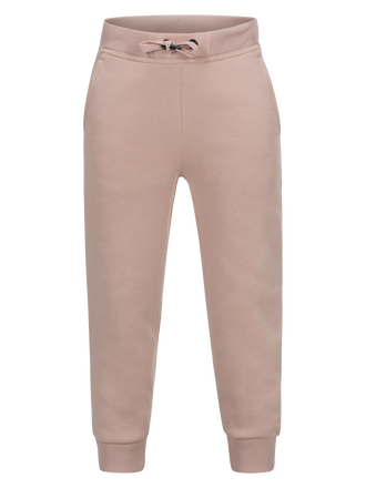 Kids Logo Sweatpants Softer Pink | Peak Performance