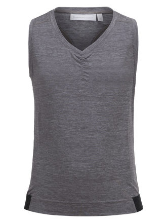 Kids Tech Tank  Grey melange | Peak Performance