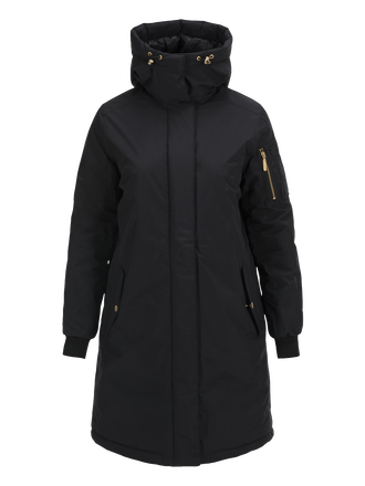 Women's Trust Parka Black | Peak Performance