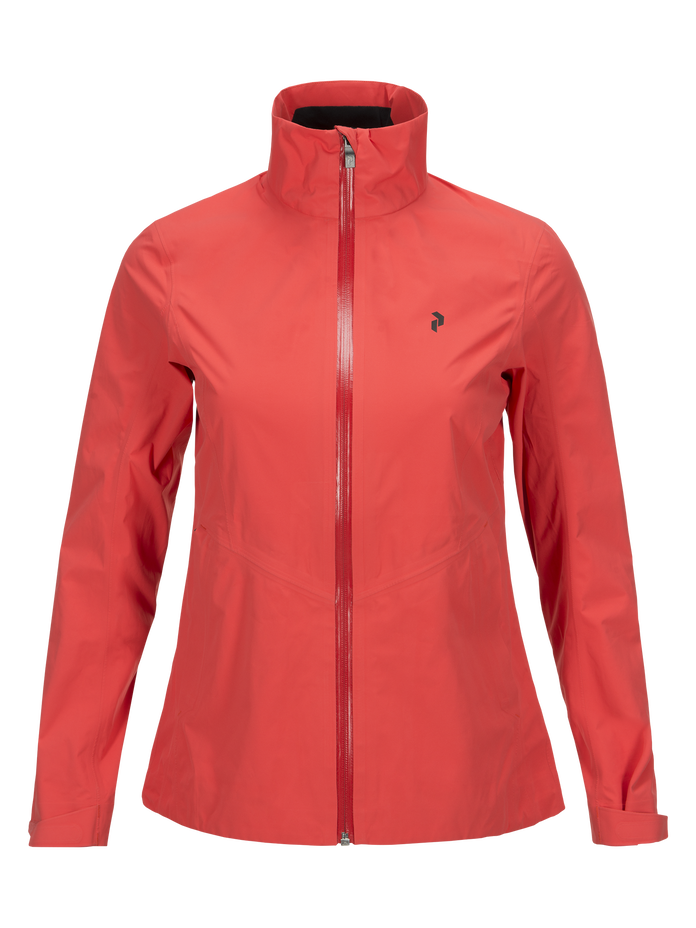 Women's Golf Brookdale Jacket Pink Flow | Peak Performance