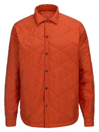Herren Les Arch Linerjacke Orange Lava | Peak Performance