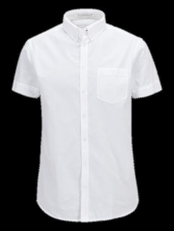 Men's Luke Short-sleeved shirt White | Peak Performance