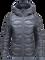 Women's Black Light Helium Hooded Jacket