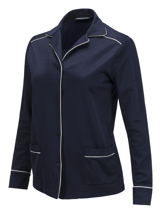 Women's Trackis Shirt  Deep Well | Peak Performance
