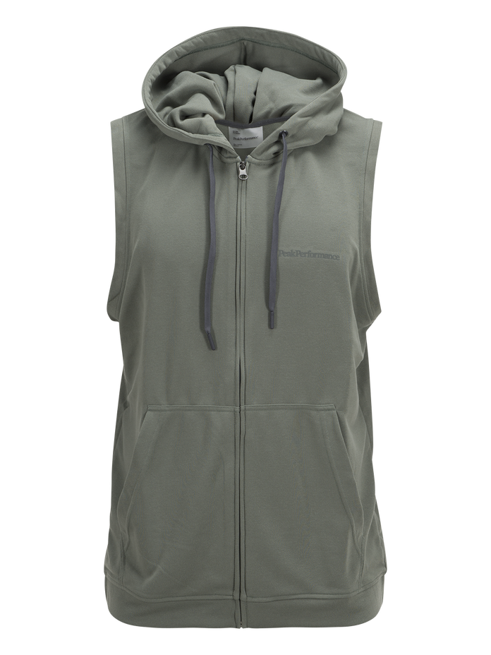 Men's Structure Hooded Vest Slate Green | Peak Performance