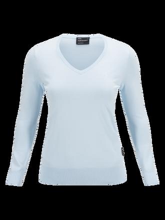 V-ringad golftröja för damer