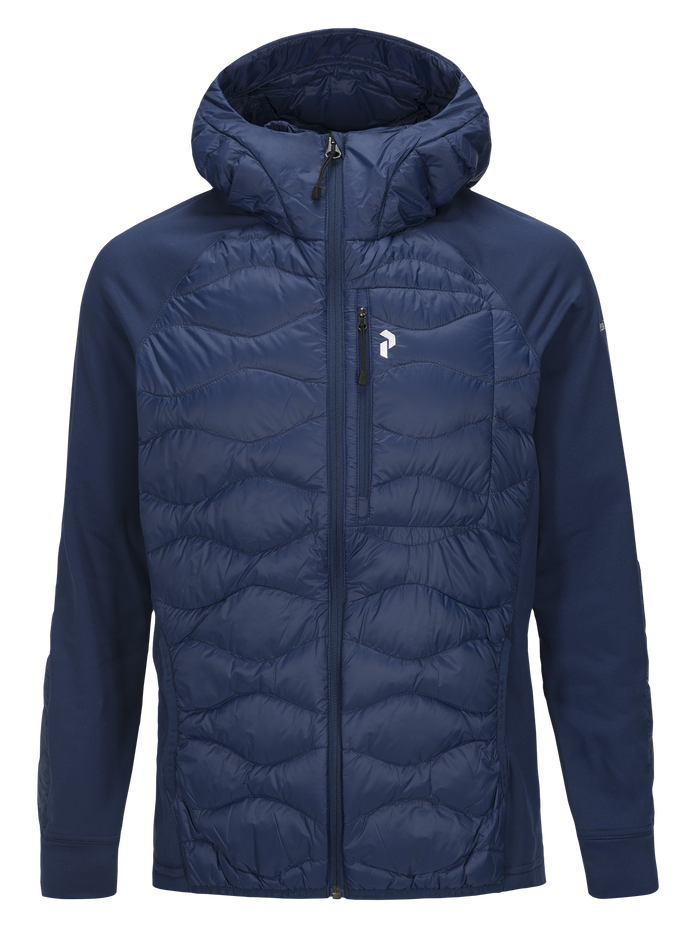 Men's Helium Hybrid Hooded Jacket ARTWORK | Peak Performance
