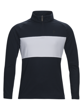 Kids Base-Layer Top Salute Blue | Peak Performance