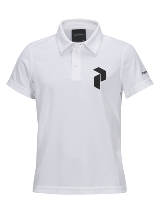Panmore golftröja barn White | Peak Performance