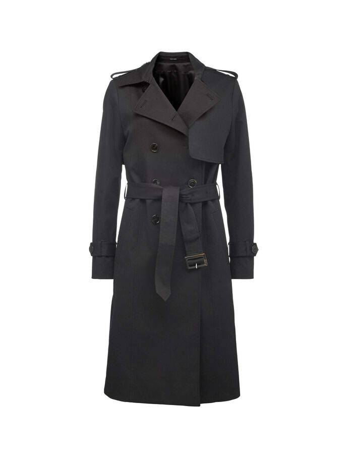 INDIO TRENCH COAT in Midnight Black from Tiger of Sweden