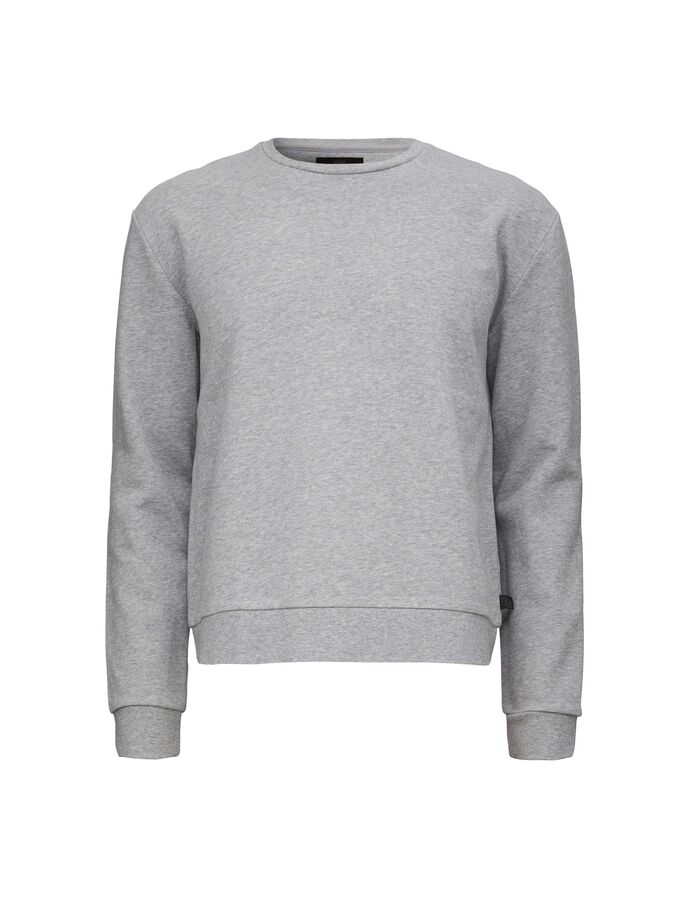 BUZZ SO SWEATSHIRT in Grey melange from Tiger of Sweden