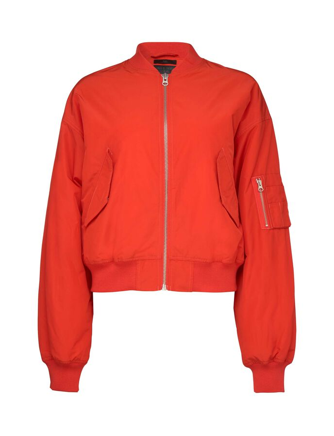 ACE JACKET in Valiant Poppy from Tiger of Sweden