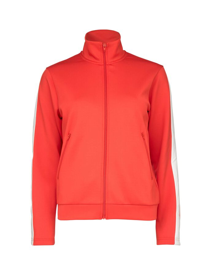 ROCK TRACKSUIT TOP in Valiant Poppy from Tiger of Sweden