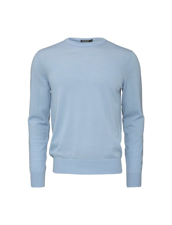 MATIAS PULLOVER in Blue Blush from Tiger of Sweden
