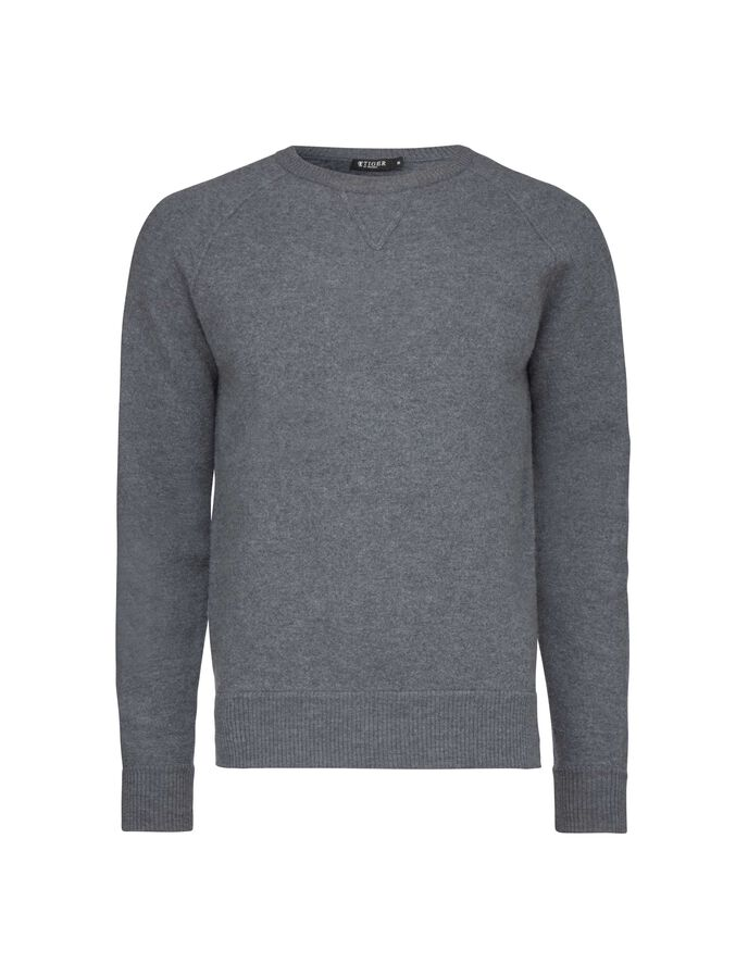 LLEU PULLOVER in Plutonium from Tiger of Sweden