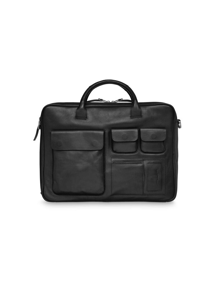 ACCORDANT BRIEFCASE in Black from Tiger of Sweden