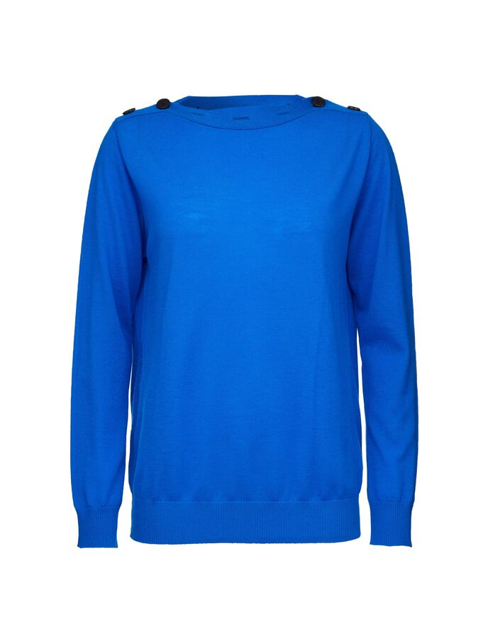 ELLORA PULLOVER in Olympian Blue from Tiger of Sweden