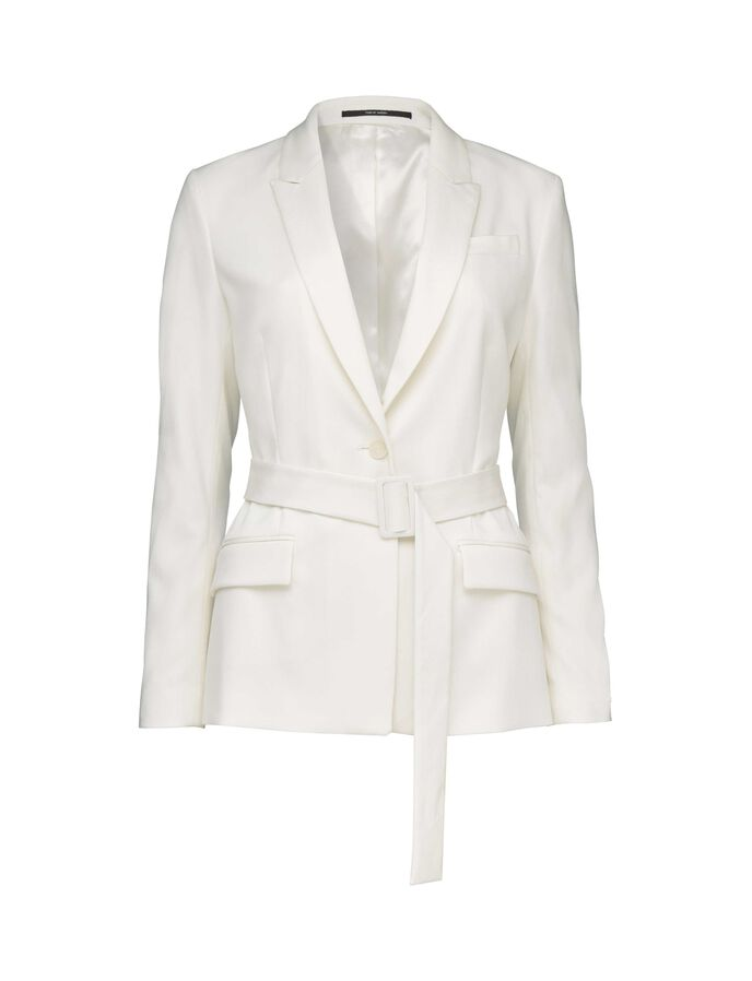 THELIA 2 BLAZER in Star White from Tiger of Sweden