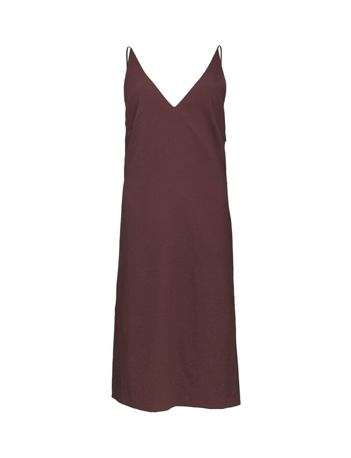 Donya dress in Deep Aubergine from Tiger of Sweden