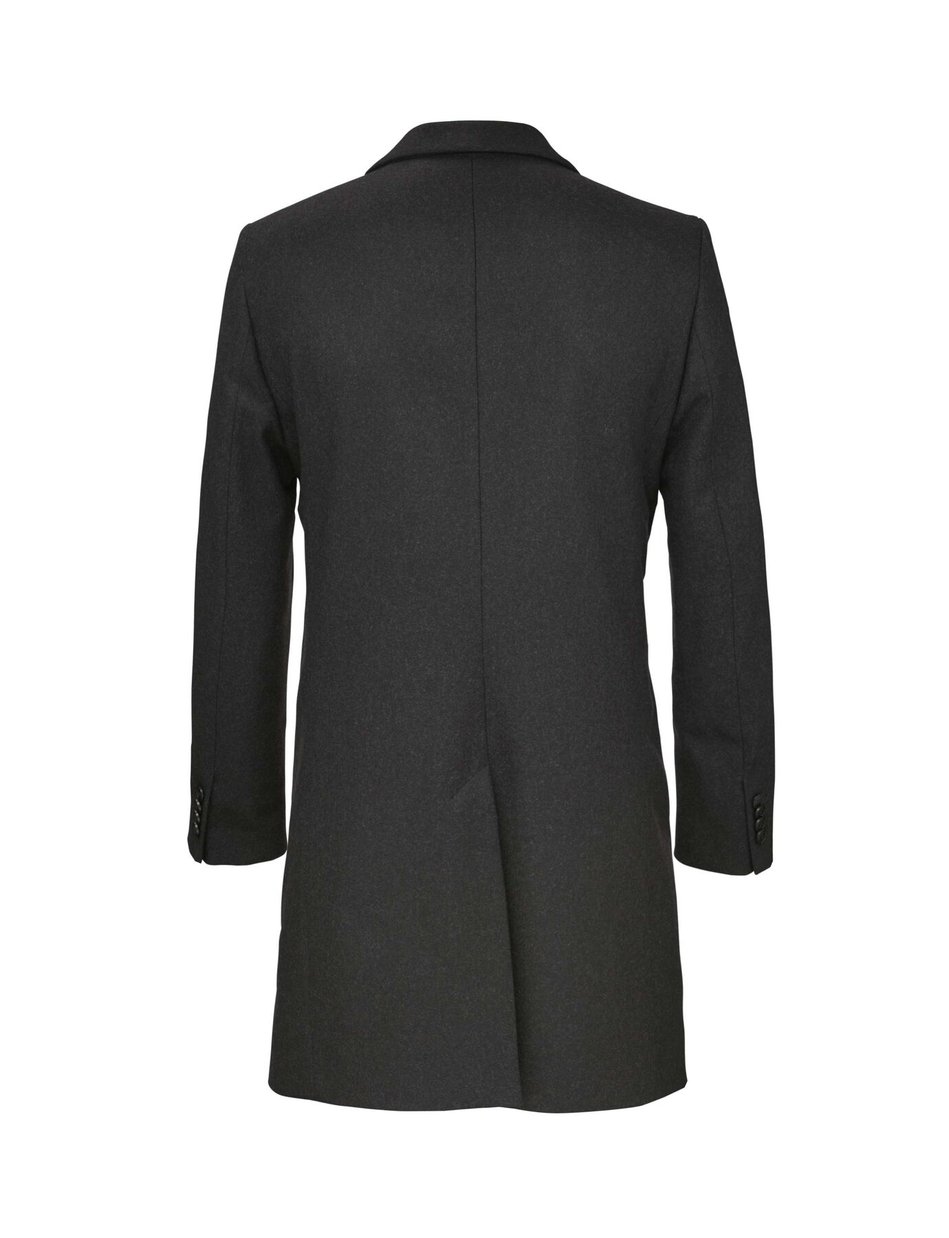 DEMPSEY 18 COAT in Charcoal from Tiger of Sweden