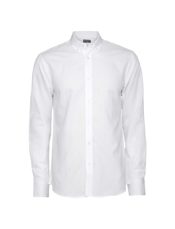 DONALD SHIRT in Pure white from Tiger of Sweden
