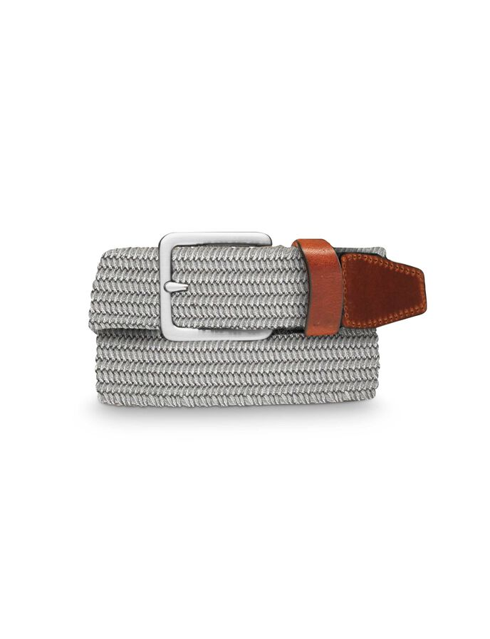 ARUNDEL BELT in Light grey melange from Tiger of Sweden