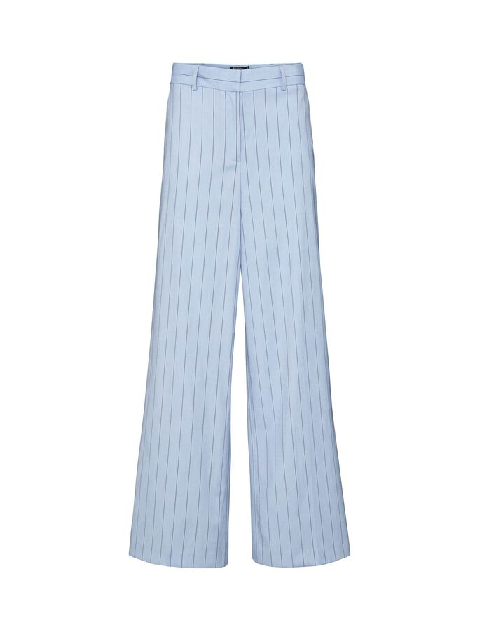 FLORALIS TROUSERS  in Art Deco Blue from Tiger of Sweden