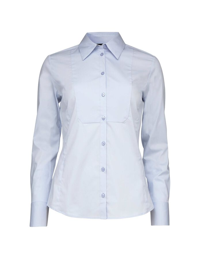 HENIE shirt in Art Deco Blue from Tiger of Sweden