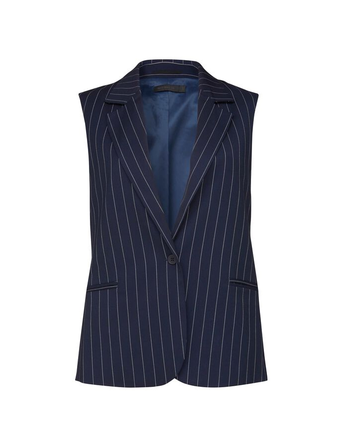 DWAG WAISTCOAT in Maritime Blue from Tiger of Sweden