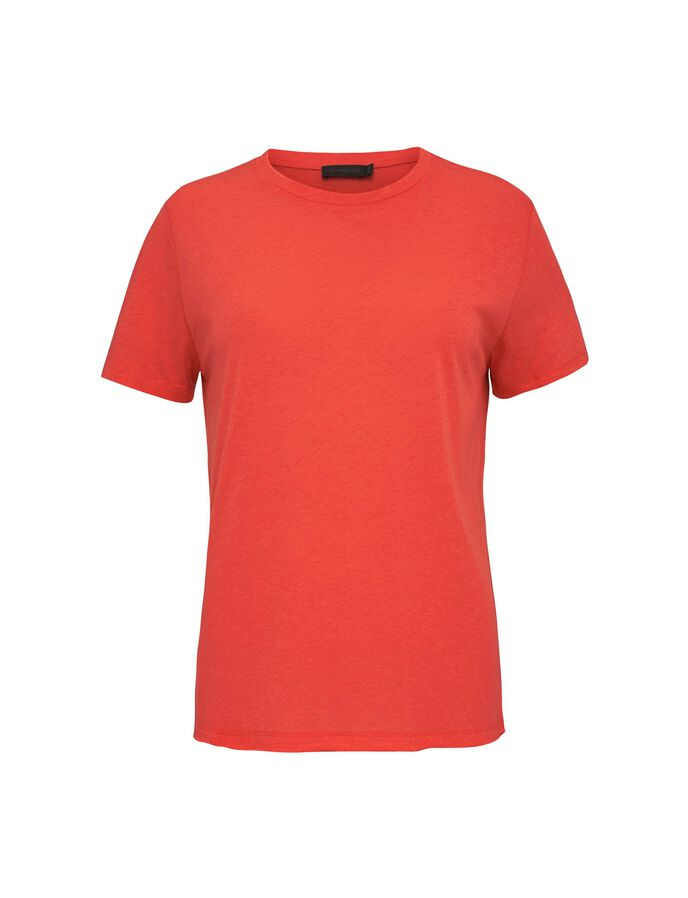 DAWN T-SHIRT in Valiant Poppy from Tiger of Sweden