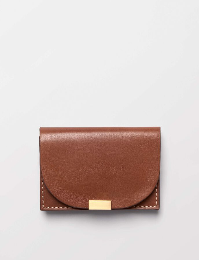 Edgal card holder in Light Brown from Tiger of Sweden
