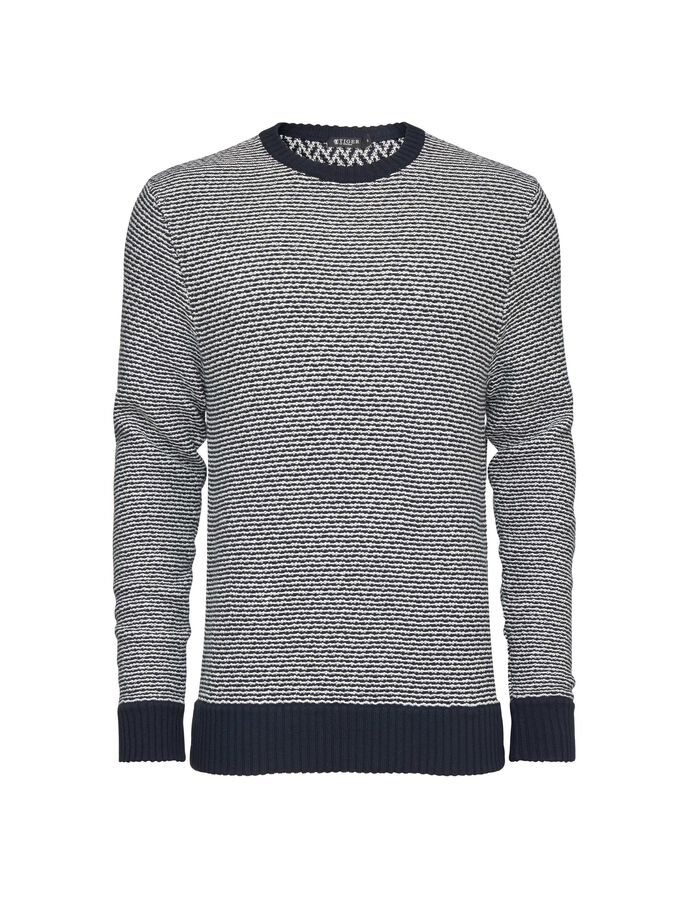 SEIMON PULLOVER in Light Ink from Tiger of Sweden