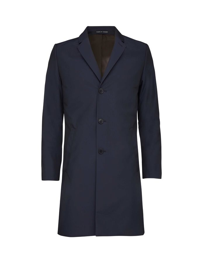 DEMPSEY 18 COAT in Light Ink from Tiger of Sweden