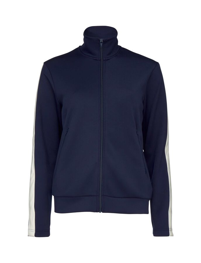 ROCK TRACKSUIT TOP in Maritime Blue from Tiger of Sweden
