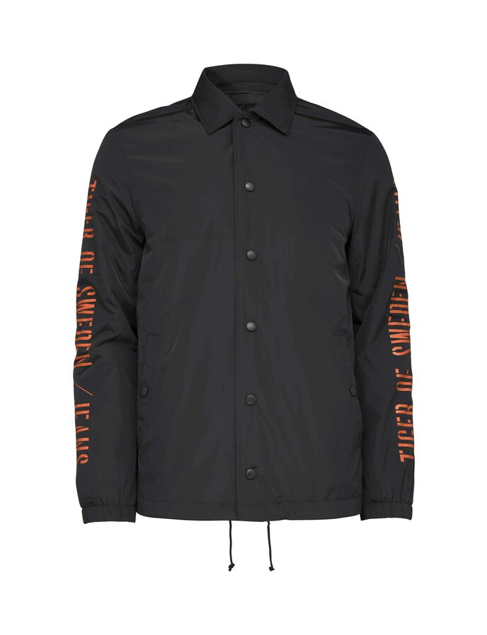 BENCH JACKET in Black from Tiger of Sweden